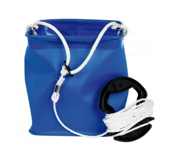 COLLAPSABLE BUCKET & ROPE