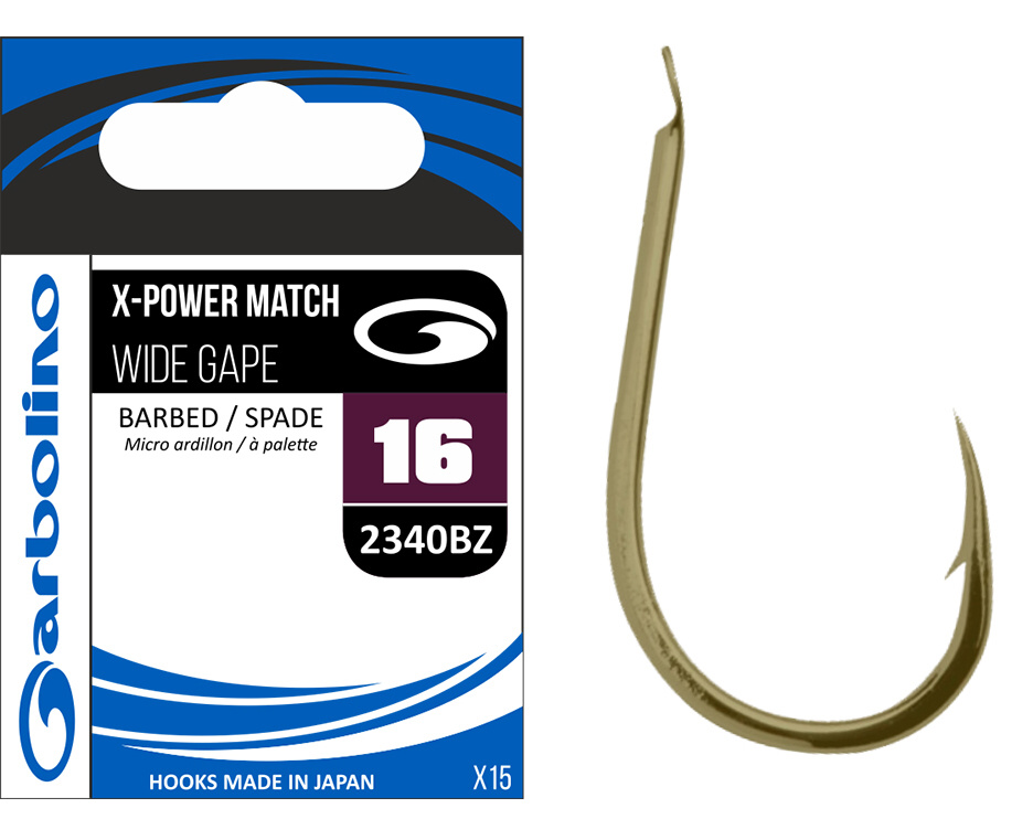 X-POWER MATCH WIDE GAPE / 2340BZ - 10 / 15 ks.
