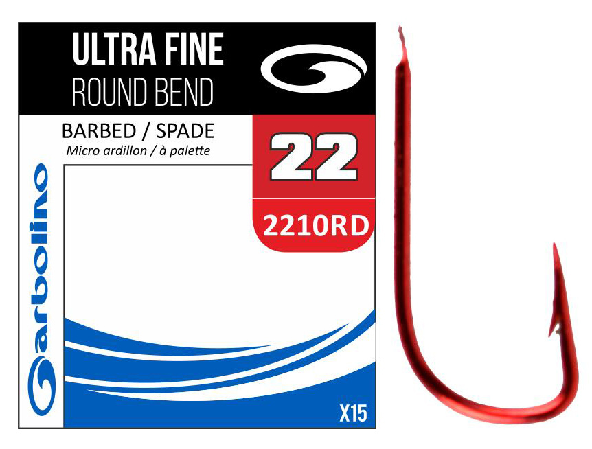 SUPRA FINE RED ROUND BEND / 2210 RD - 22 / 15 ks.