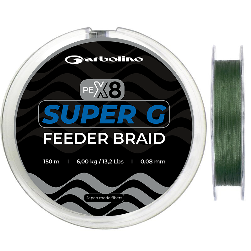 SUPER G FEEDER BRAID 0,08mm