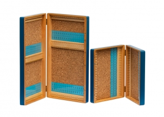 DELUXE WOODEN HOOK BOXES - S